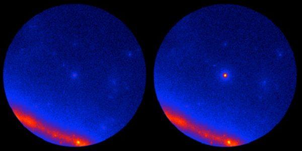 NASA впервые нашло источник нейтрино далеко за пределами нашей галактике
